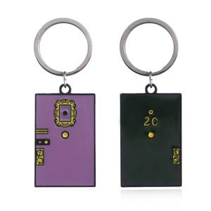 Accessories - Friends TV Keychain Monica & Rachel apartment door